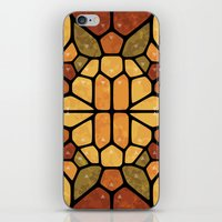sacred geometry iPhone & iPod Skins featuring Sacred geometry - Voronoi by Enrique Valles