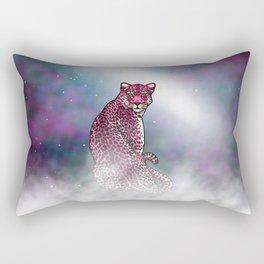 Space Leopard Rectangular Pillow