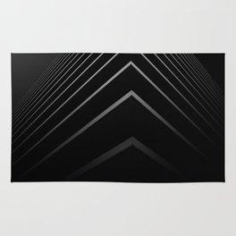 Black Arrows Rug