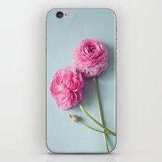 Ranunculus Love iPhone & iPod Skin