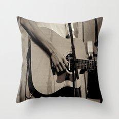 Soundcheck Throw Pillow