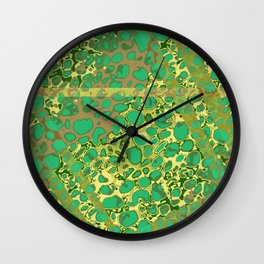 Vibrant Sponges 6.0 Wall Clock