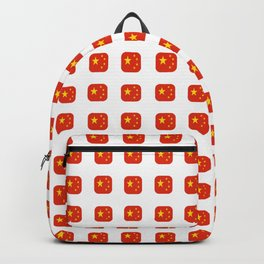 Flag of China - with soft square Backpack