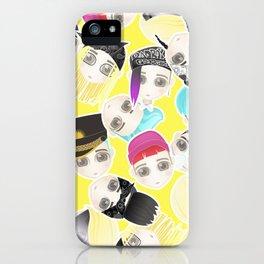 BIGBANG Collage (Yellow) iPhone Case