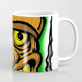 Cocktail Weenie and the Tiki Hut Coffee Mug