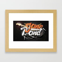 Jano Band Framed Art Print