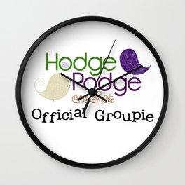 HodgePodge Groupie Wall Clock