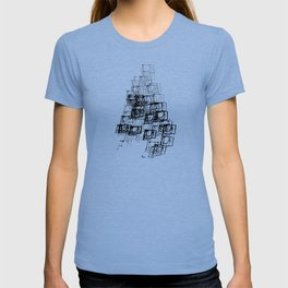 "Christmas Tree | ""Cubes"" | Black | [D7780~39_005] T-shirt"