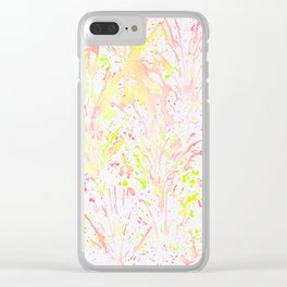 Flying Fire Clear iPhone Case