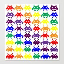 Rainbow Invasion Canvas Print