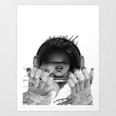 Space Noir Art Print