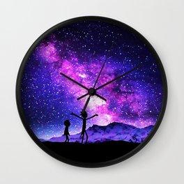 Rick Morty Wall Clock