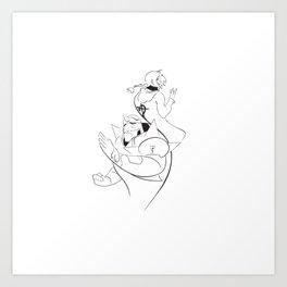 Minimalist Full Metal Alchemist Art Print