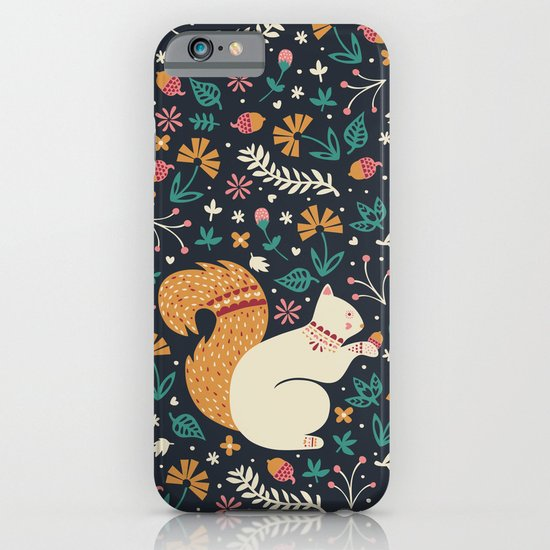 Merry Little Squirrel  iPhone & iPod Case