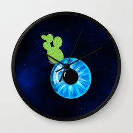 Cactus Eyeball Wall Clock