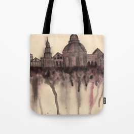 Grieving City Tote Bag