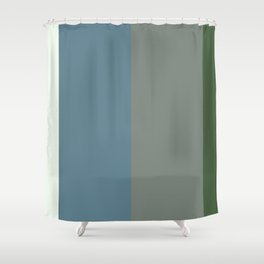Parable to Behr Blueprint Color of the Year and Accent Colors Vertical Stripes 10 Shower Curtain