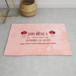 John Wayne G's Card Rug