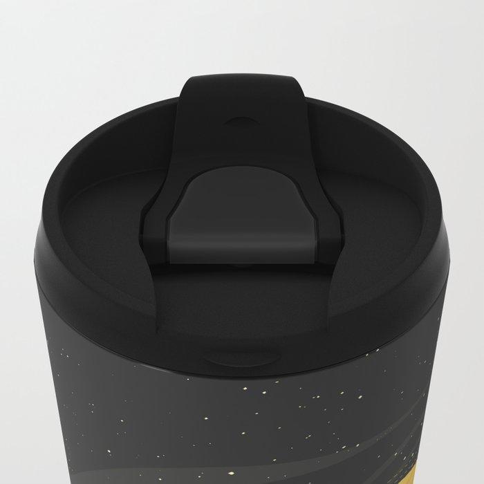 Death by Solar Flare Metal Travel Mug