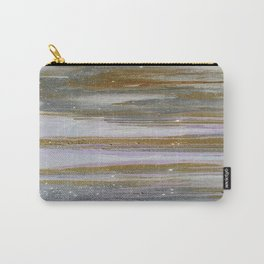 Gold and Silver Deluge Carry-All Pouch