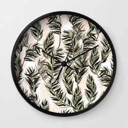 Reed by Veronique de Jong Wall Clock