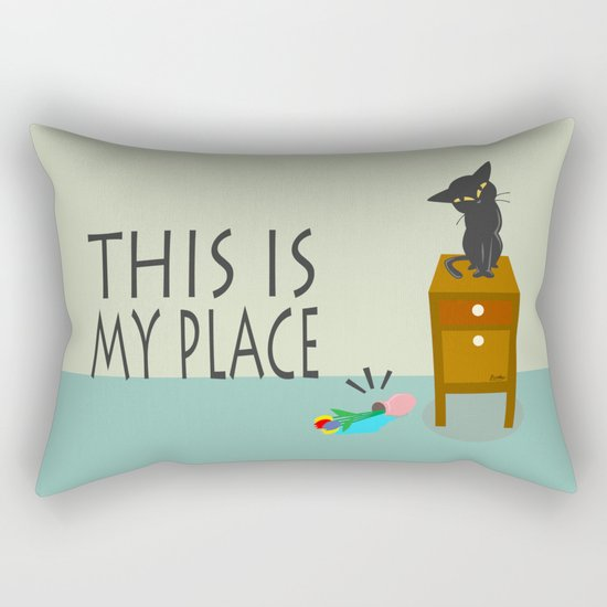 This is my place Rectangular Pillow