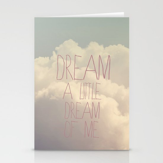 Dream A Little  Stationery Cards