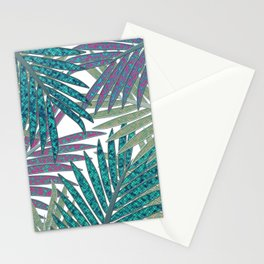 TROPICAL LEAVES GARDEN W Stationery Cards