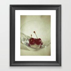 Taste like Summer Framed Art Print