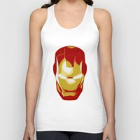 ironman Tank Tops featuring Ironman by Adel
