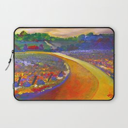 The Road to Chateau Chantal Laptop Sleeve