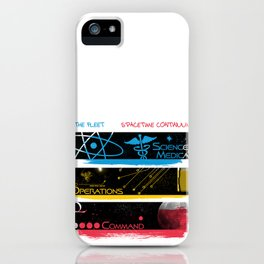 SpaceTime Continuum iPhone Case
