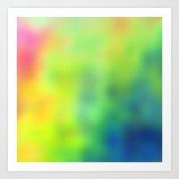 tye dye Art Prints featuring Tye Dye by Christy Leigh