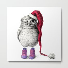 Happy Hoo Hoo Hoo To You Metal Print
