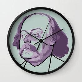 Gustave Flaubert Wall Clock