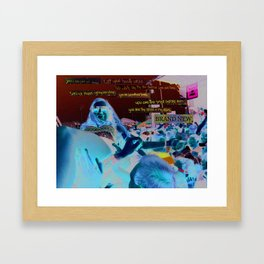 A gift for a friend Framed Art Print