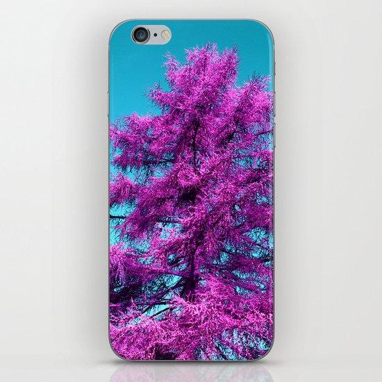 purple fir - tree I iPhone & iPod Skin