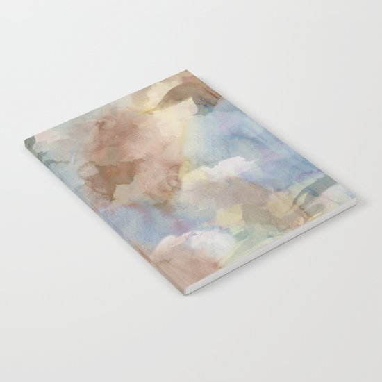 Earth Color Watercolor Abstract Notebook