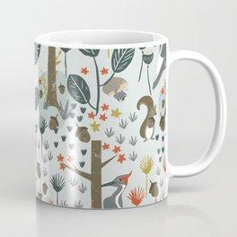 Rustic  Woodland Animals Coffee Mug