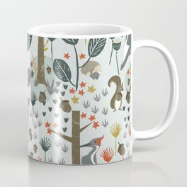 Rustic  Woodland Animals Coffee Mug