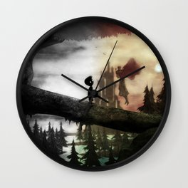 child of limbo Wall Clock