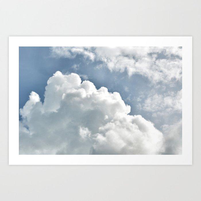 Cumulus Sky Art Print