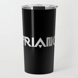 I Heart Triangles Travel Mug