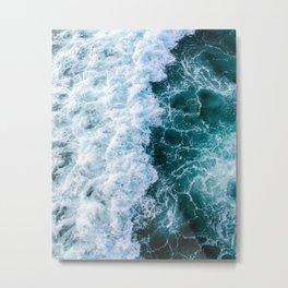 The Ocean Has My Heart Metal Print