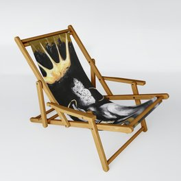 Naturally Queen VI GOLD Sling Chair