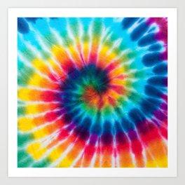Tie Dye 2 Art Print