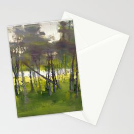Trees in Motion Stationery Cards