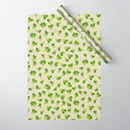 Lettuce Bok Choy Vegetable Wrapping Paper