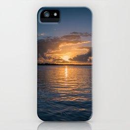 Sunset in Key Largo iPhone Case