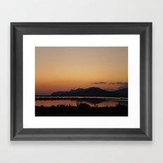 las salinas Framed Art Print